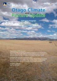 Download Full Report (2 MB) - Otago Regional Council