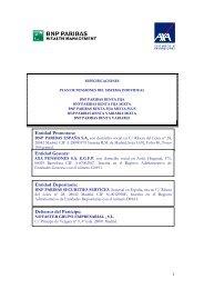 Entidad Promotora - BNP Paribas Wealth Management España