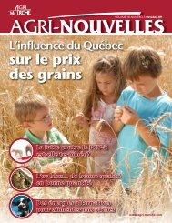 sur le prix des grains - Agri-Marché