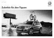 Zubehör für den Tiguan Die Preisliste - Volkswagen AG