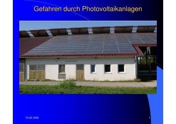 Gefahren durch Photovoltaikanlagen - Freiwillige Feuerwehr ...