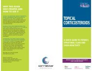 TOPICAL CORTICOSTEROIDS - The Dermatologist
