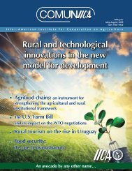 Rural and technological innovations in the new model for ...