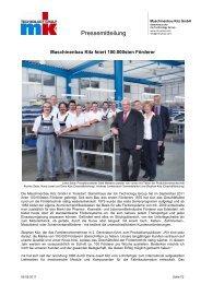 Pressemitteilung - mk Technology Group