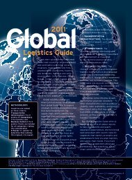 2011 Global Logistics Guide - Inbound Logistics