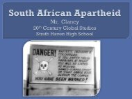 South African Apartheid PPT