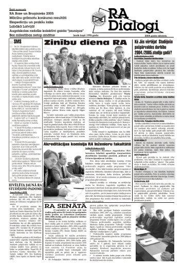 RAdošs - Rēzeknes Augstskola