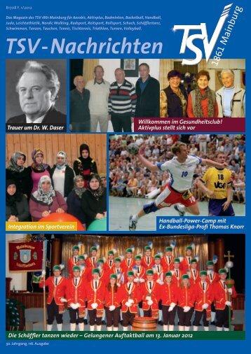 TSV-Nachrichten 1/2012