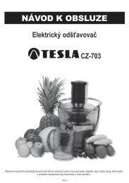 NÁVOD K OBSLUZE - EVA.cz
