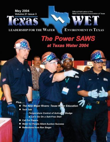 Texas Wet newsletter.qxd - Water Environment Association of Texas