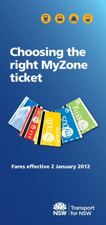 Choosing the right MyZone ticket - Busabout