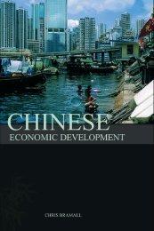 Chinese Economic Development