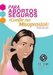 ABORTOS SEGUROS Misoprostol!