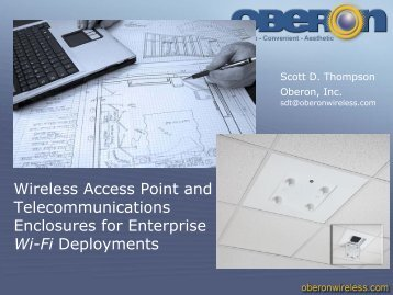 Wireless Access Point and Telecommunications ... - Oberon Inc.
