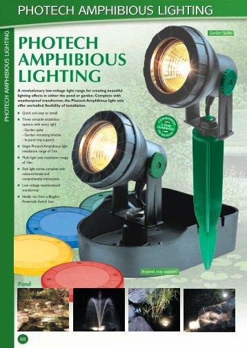 photech amphibious lighting - Swell UK