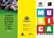 Musica e società - Teatro Comunale di Modena