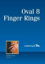 Oval 8 Finger Rings - Mediroyal