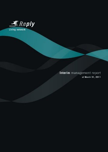 Reply - Interim management report. At March 31, 2011