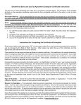 Certificate of Exemption - E-595 - Keiger Graphic Communications - Page 2
