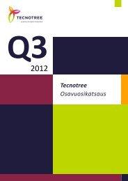 Q3 2012 osavuosikatsaus.pdf - Tecnotree