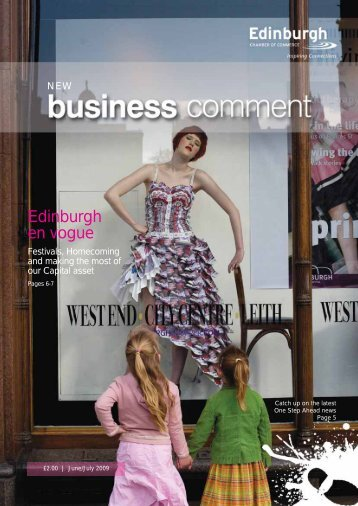 Edinburgh en vogue - The Edinburgh Chamber of Commerce
