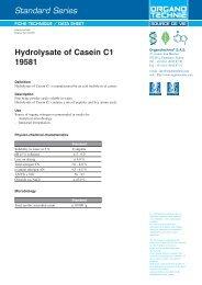 Standard Series Hydrolysate of Casein C1 19581 - TekniScience.com