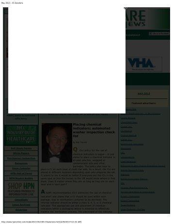 View PDF - Healthmark Industries Company