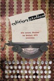 Katalog als PDF herunterladen - Edition Atelier