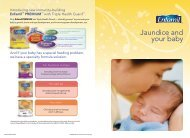 Jaundice and your baby - Mead Johnson Nutrition