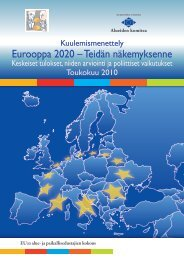 Eurooppa 2020 – Teidän näkemyksenne
