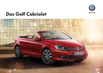 Das Golf Cabriolet - Volkswagen AG