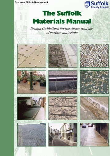 Materials Manual - Pages 01-10 - Suffolk County Council