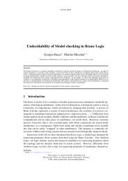 Undecidability of Model checking in Brane Logic