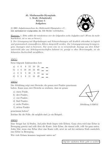 40 Free Magazines From Mathe Wettbewerbe Nrw De