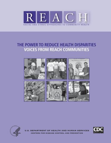 The Power to Reduce Health Disparities - Centers for Disease ...