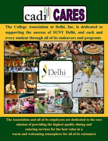 CADI Brochure - SUNY Delhi