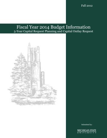 Fiscal Year 20001 Budget Information - Office of Planning and Budgets