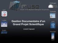 La gestion documentaire - Réseau Qualité en Recherche