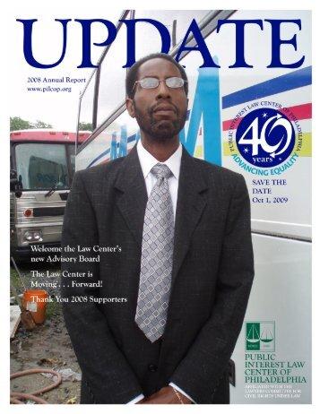2008 Annual Report - Public Interest Law Center of Philadelphia