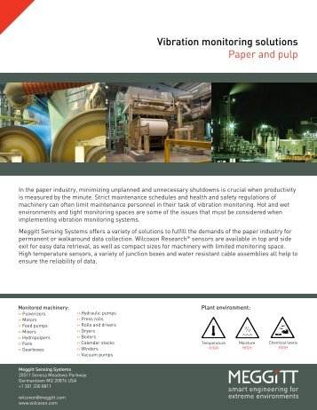 Vertical - Paper and pulp.indd - Wilcoxon Research
