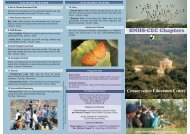 BNHS-CEC Chapters - Bombay Natural History Society