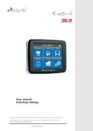 User manual Instrukcja obsługi - Lark