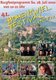 HOHENTWIELFEST 2006 - Tv3.de Medienverlag