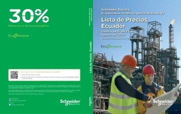 Lista de Precios General Ecuador 2013 (pdf) - Schneider Electric