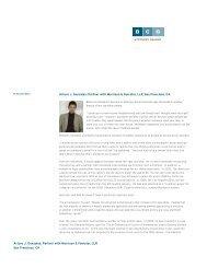 Arturo J. Gonzalez: Partner with Morrison & Foerster, LLP, San ...