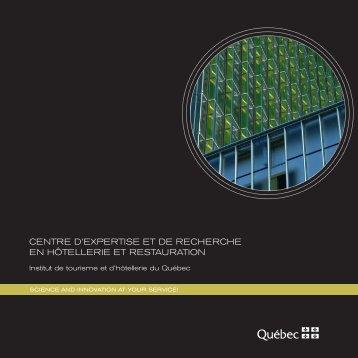 E-mail: Cer - Institut de tourisme et d'hôtellerie du Québec