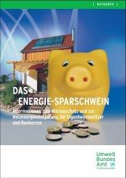 Das Energie-Sparschwein - Aktion No-Energy
