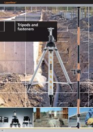 Tripods and fasteners - Spot-on.net