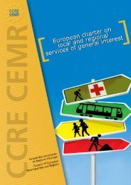European Charter on local and regional services of general interest