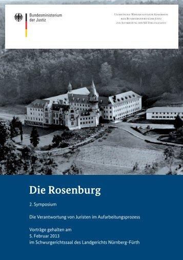 Die Rosenburg - Unabhängigen Wissenschaftlichen Kommission